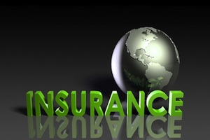 Insurance and a globe