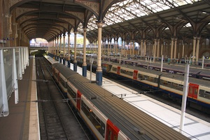 Train station, Train, Travel, Platform, Train track