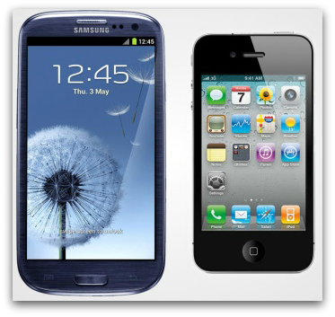 Battle of The Smartphone: iPhone 5 vs Galaxy S3