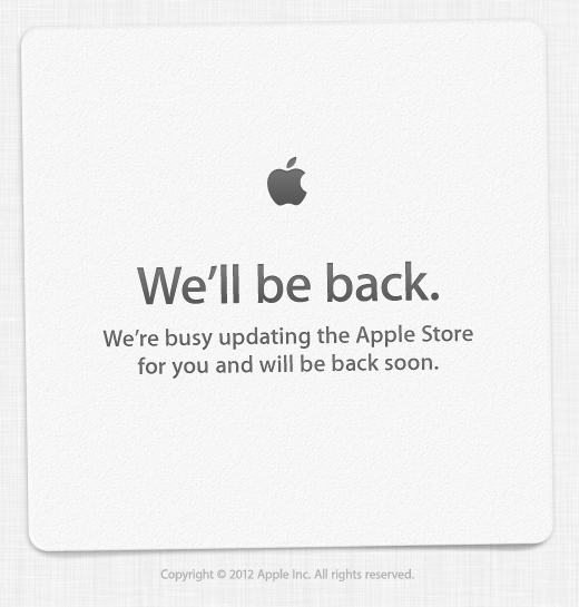 Apple Store Down As The Wait Begins