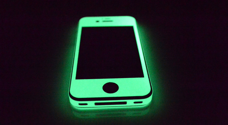 The Green iPhone 5 Screen Glow