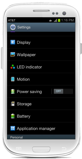 How to Use Smart Motion on the Galaxy S3