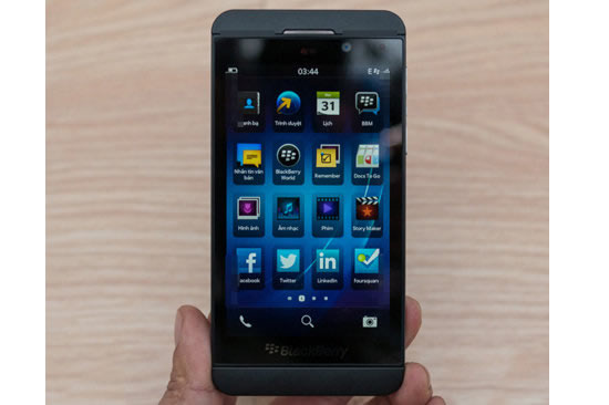 blackberry z101 BlackBerry denies high return rate on Z10
