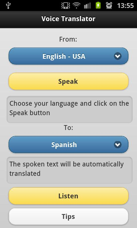 《What is the translation mobile app the fact that won't have need of Word wide web》