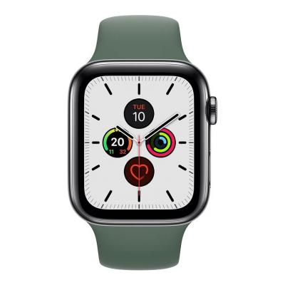 Buy Apple Watch Series 5 44mm Stainless Steel (GPS + Cellular) Refurbished