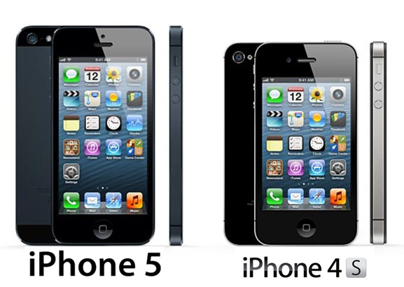 Comparison: iPhone 5 vs iPhone 4S