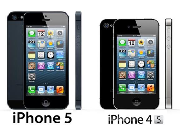 Comparison: iPhone 5 vs iPhone 4S