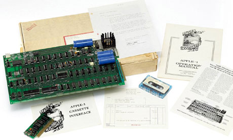 Apple-1 With Accessories Set To Be Auctioned (VIDEO)