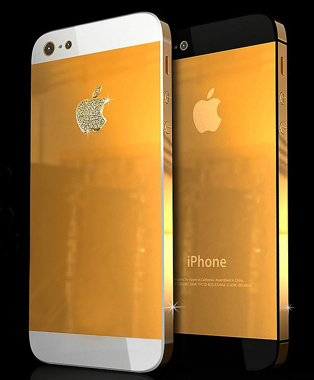Sink Your Teeth Into A $35,500 Gold iPhone 5 Case