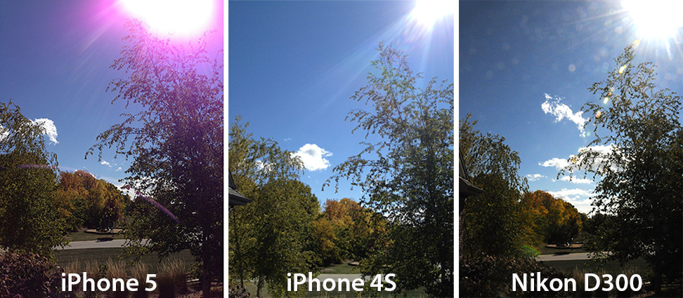 iPhone 5 Camera Issues: Purple Haze