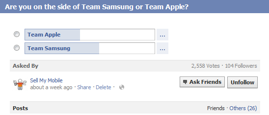 Samsung Beats Apple In UK SellMyMobile.com Poll