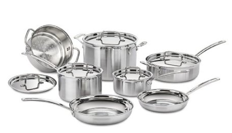 Cuisinart 12-Piece Cookware Set