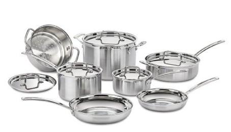 Cuisinart 12-Piece Cookware Set