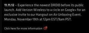 Verizon Confirms New DROID DNA by Accident