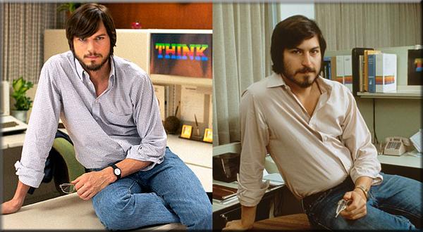 Ashton Kutcher's Unbelievable Makeover as Steve Jobs (PHOTO)