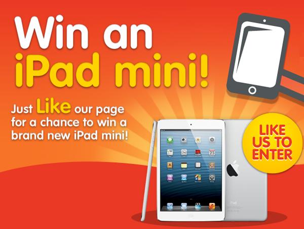 Win an Apple iPad Mini