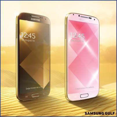 gold samsung s4
