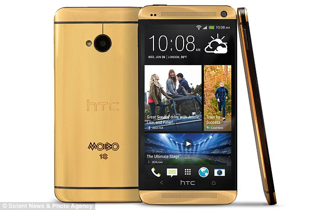 18ct HTC One