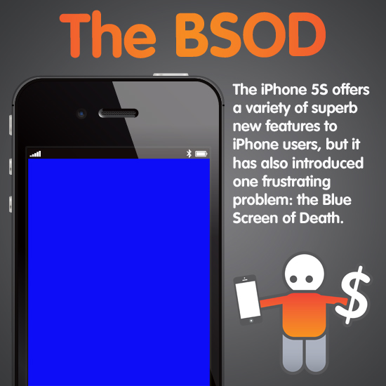 iphone blue screen of death iphone 5s blue screen of and how to fix it 2426