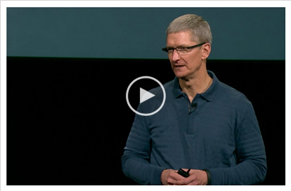 Tim Cook in October 2012