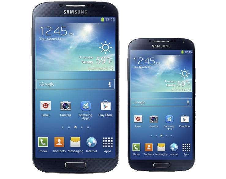 Galaxy S4 and Galaxy S4 Mini