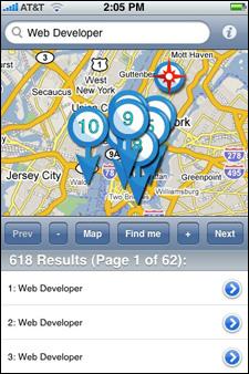 jobs compass app