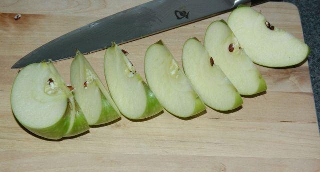 Cutting an Apple