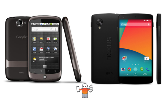 nexus one vs nexus 5