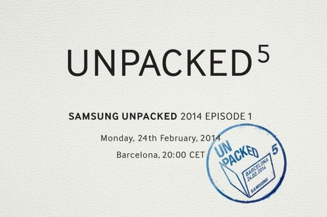 Samsung Galaxy Unpacked5 Event