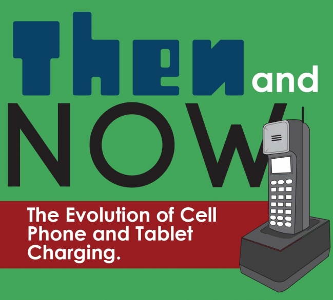 The Evolution of Cell Phone & Tablet Charging