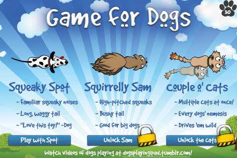 dog gaming app