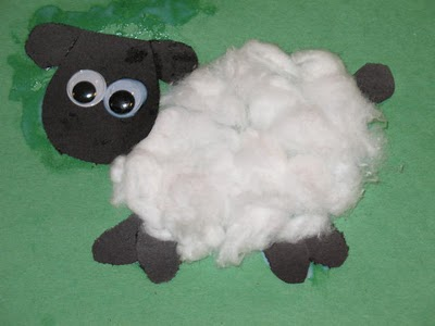 Sheep Cotton Balls