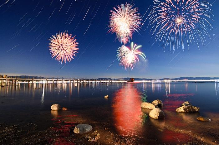 Lake Tahoe Fireworks