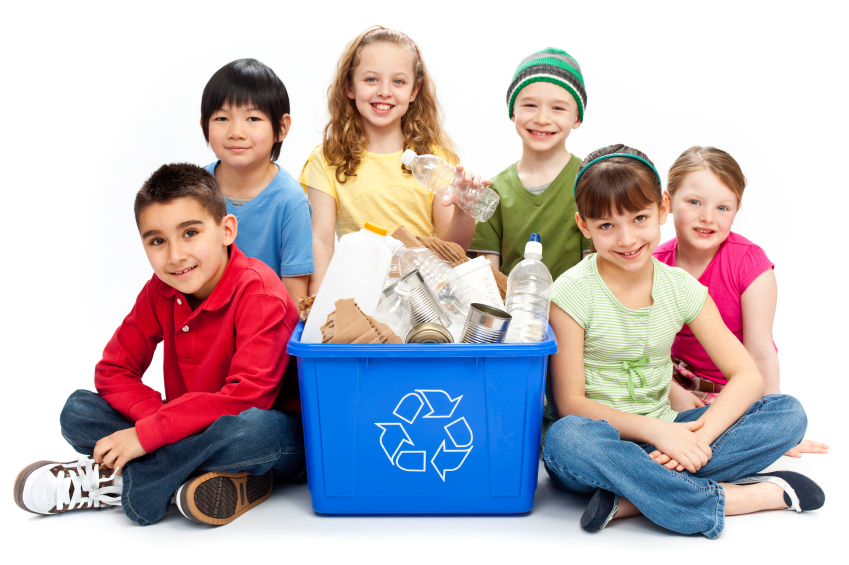 kids recycling fun
