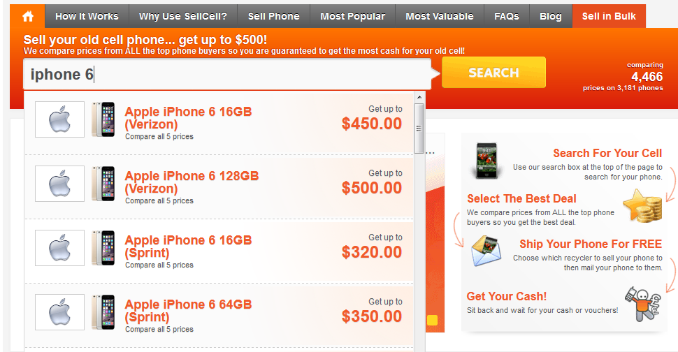 Make Money Selling Your iPhone 6