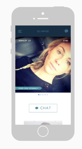 glimpse online dating app Opinions expressed by entrepreneur a new dating app users can sync the app to their fitness devices to measure heart rate when they get that first glimpse.