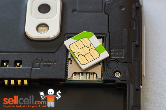 Remove your SIM Card