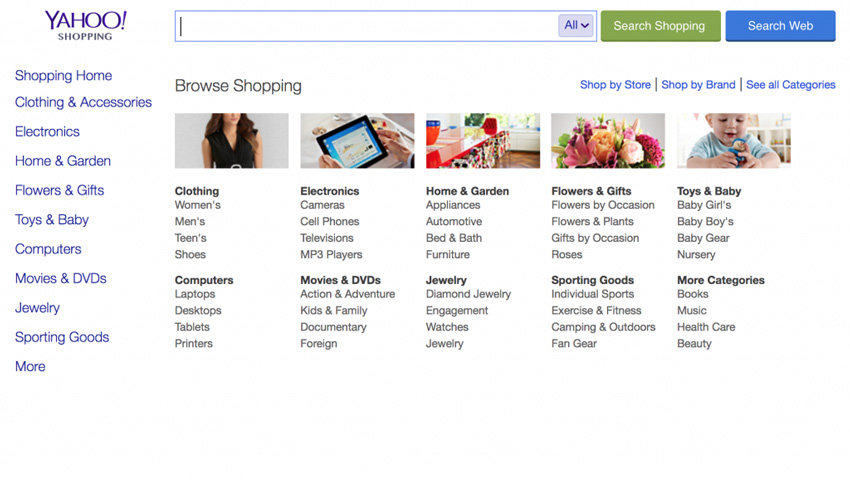 Yahoo Shopping Price Comparison