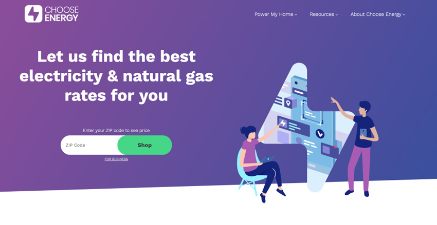 Choose Energy Price Comparison Site