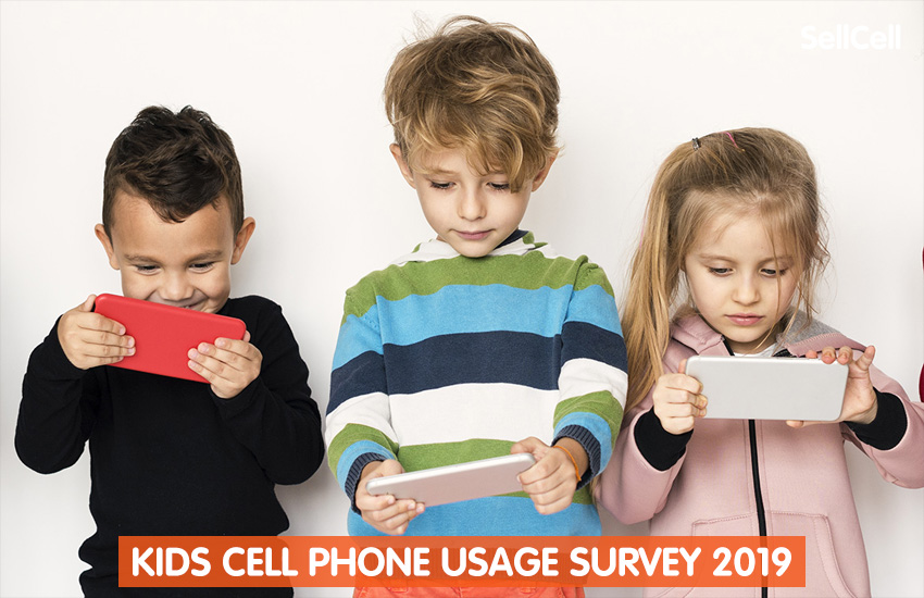 Kids Cell Phone Usage Survey 2019