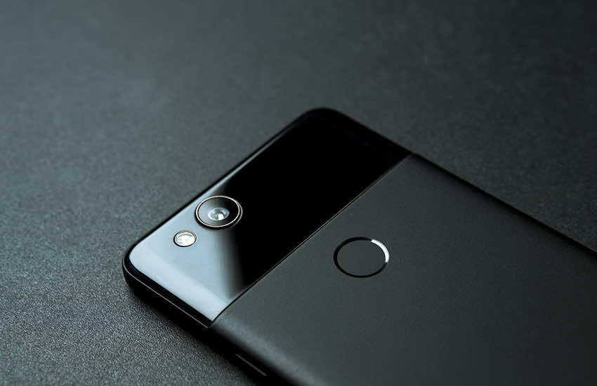 Back of Google Pixel 2
