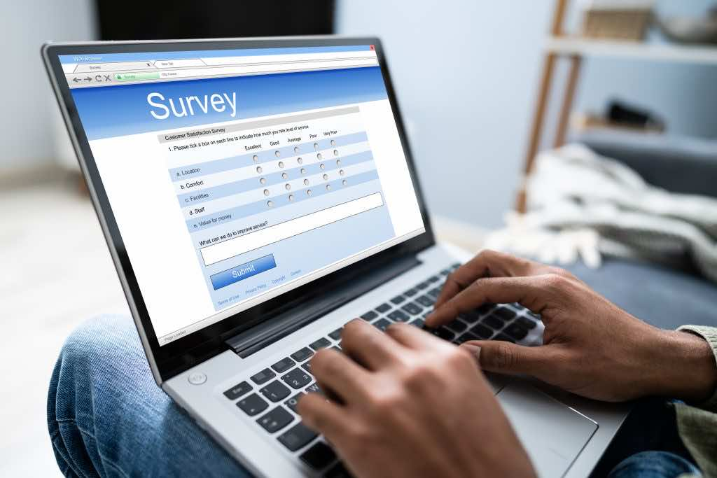Take part in surveys to make money