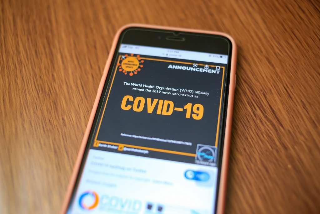 Do smartphones carry coronovirus?