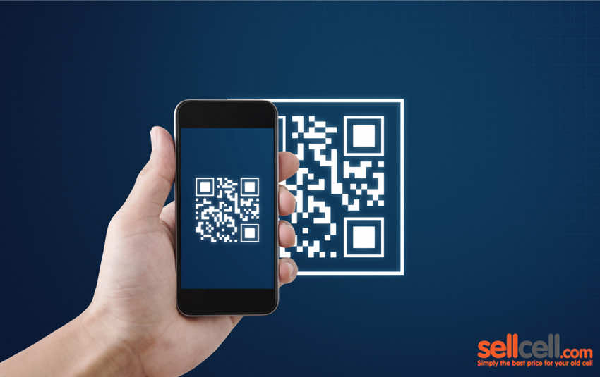 Using QR Codes on your phone