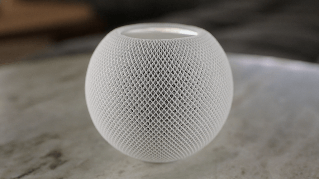 the home pod mini 2 from Apple iPhone 12 Announcement.