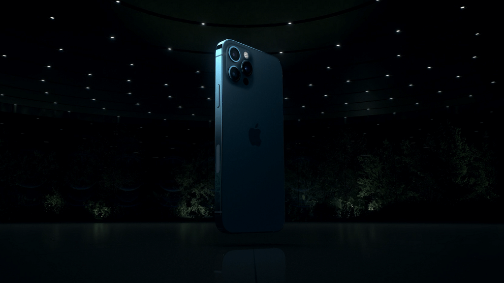The iPhone 12 Pro from Apple iPhone 12 announcement