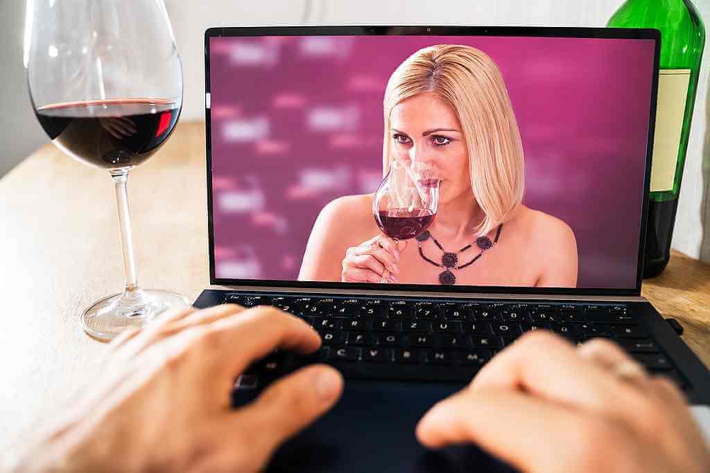 zoom wine tasting