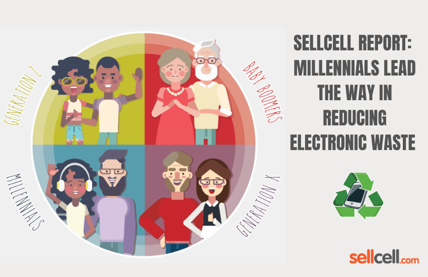 Millenials Lead the Way Recycling E-Waste