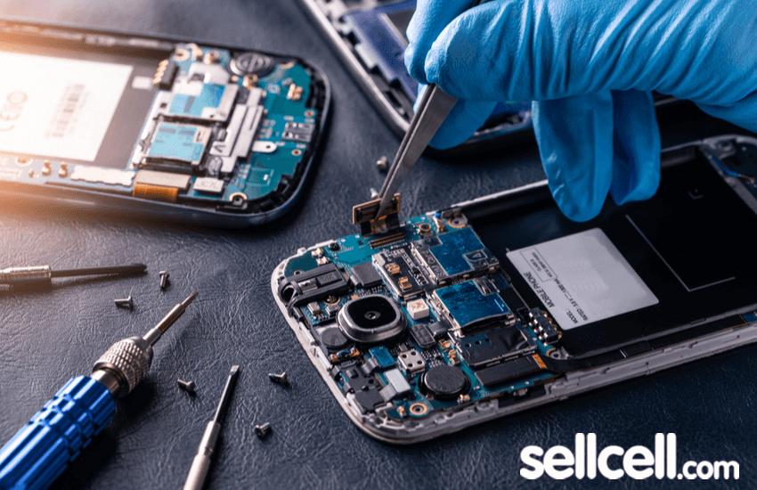 Smartphone Salvaging