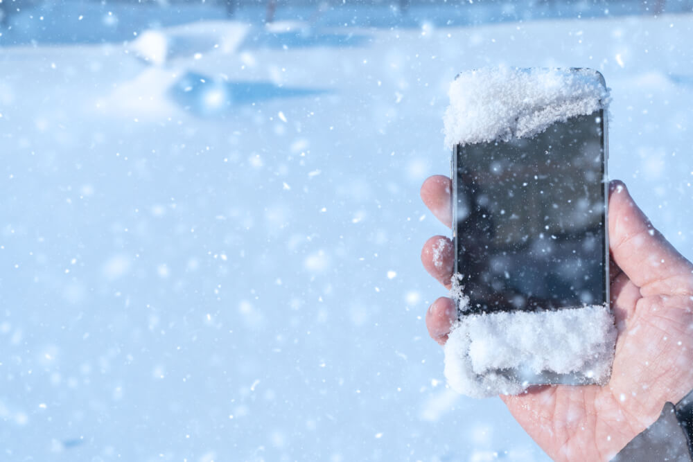 Avoid exposing your phone to temperatures